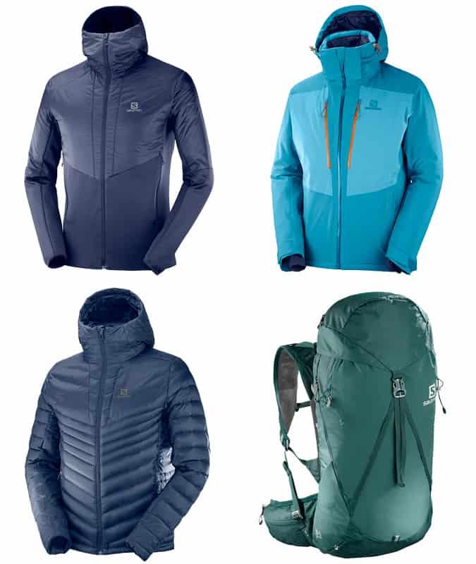 Best Salomon outdoor clothing