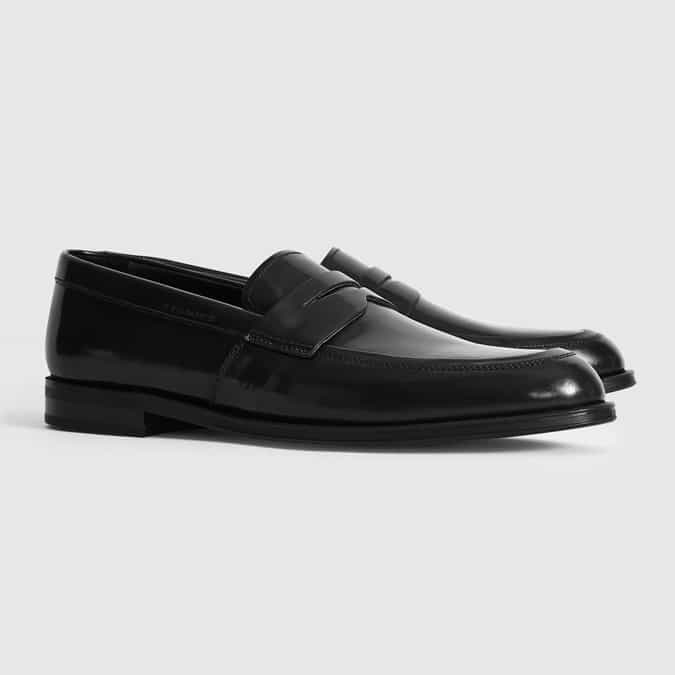 ERNEST LEATHER PENNY LOAFERS