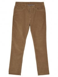 Austin Reed Tan Regular Stretch Cord Trousers