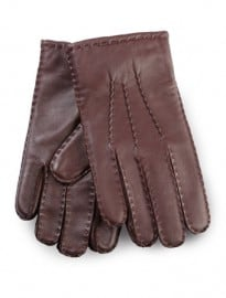 Austin Reed Burgundy Premium Leather Gloves