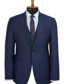 Austin Reed Slim Fit Blue Mohair Jacket