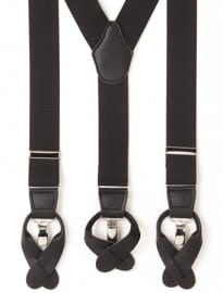 Austin Reed Black Combination Braces