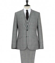 Reiss Vincent Three-piece Check Suit