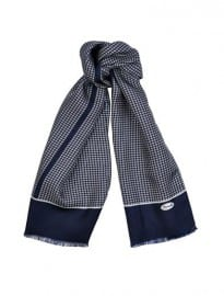 Faconnable Micro Square-print Silk Scarf 1002801