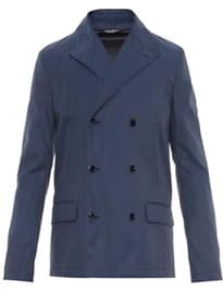 Dolce & Gabbana Lightweight Double-breasted Pea Coat 1006949