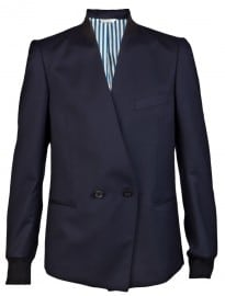 Paul Smith Leather Trim Blazer