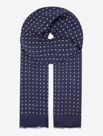 Begg And Co Polka-dot Wispy Scarf