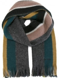 Paul Smith Block Stripe Scarf