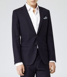 Reiss Fairline B Two Button Blazer Navy