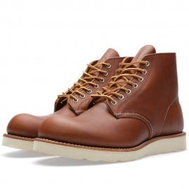 Red Wing 9107 Heritage Work 6 Round Toe Boot Oro-iginal