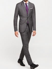 He By Mango Wool Paulo Suit