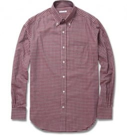Loro Piana Gingham Cotton Shirt