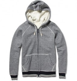 Band Of Outsiders Cotton Zip Up Hoodie