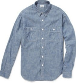 J.crew Cotton Chambray Shirt