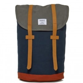 Sandqvist Blue Grey Canvas Stig Backpack