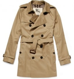 Burberry London Twill Trench Coat