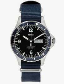 Timex X J.crew Timex Andros Steel Watch
