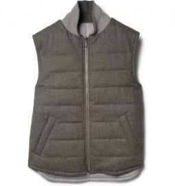 Dunhill Reversible Padded Wool Gilet