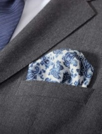 Silk Pocket Square ´pocket Square 33 X 33 Cm By Boss Black