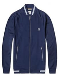 Fred Perry Texture Mix Track Jacket