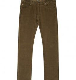 Reiss Brightling Cord Trousers Burnt Amber
