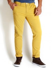 Burton Skinny Bright Yellow Chino
