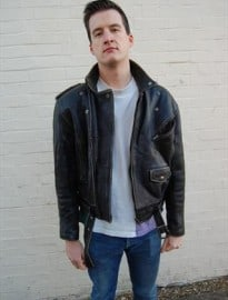 Mens Genuine Leather Perfecto Motorcycle Jacket