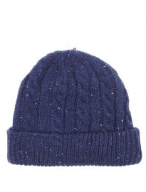 Burton Navy Nepp Cable Beanie Hat
