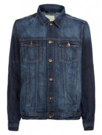 New Look Dark Denim Jacket