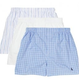 Polo Ralph Lauren Three Pack Cotton Boxer Shorts