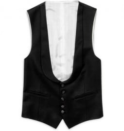 Yves Saint Laurent Wool Evening Waistcoat