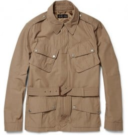 Ralph Lauren Black Label Jump Cotton-blend Jacket
