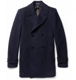 Paul Smith London Wool And Cashmere-blend Peacoat
