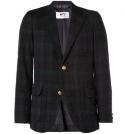 Junya Watanabe Brooks Brothers Plaid Wool Blazer