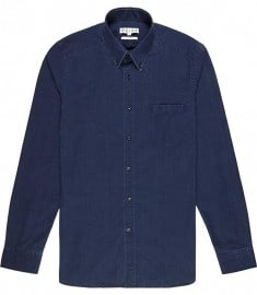 Reiss Demetri Dark Denim Shirt Indigo