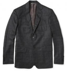 Billy Reid Rustin Prince Of Wales Check Wool Blazer