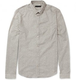 Burberry Prorsum Slim-fit Printed Cotton Shirt