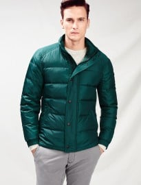 He By Mango Waterproof Feather Down Coat