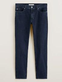 He By Mango Slim-fit Dark Wash Patrick Jeans