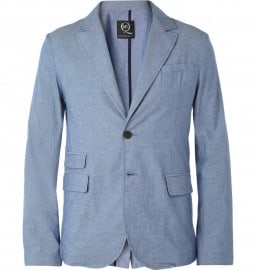 Mcq Unstructured Slim-fit Cotton Suit Jacket