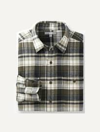 Uniqlo Men Flannel Check Long Sleeve Shirt