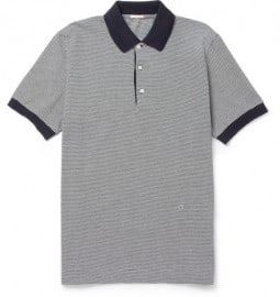 Massimo Alba Striped Cotton-piqué Polo Shirt