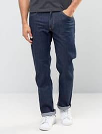 Lee Jeans Brooklyn Straight Fit One Wash Stretch