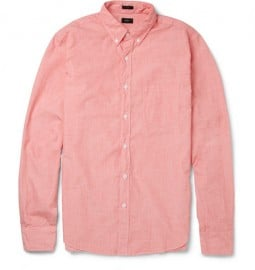 J.crew End-on-end Cotton Shirt