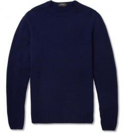 Slowear Zanone Crew Neck Lambswool Sweater