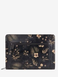 Ted Baker Junglo Small Printed Leather Document Bag