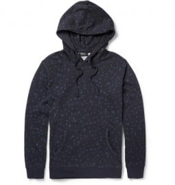 A.p.c. Animal-print Cotton-jersey Hoodie