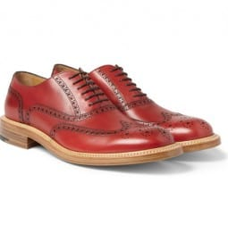 Okeeffe Milo Leather Wingtip Brogues