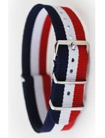 Regimental Nato Strap 20mm Redwhite And Blue