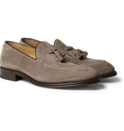 Okeeffe Excalibur Suede Tassel Loafers
